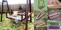 How To Build A Backyard Swing Set