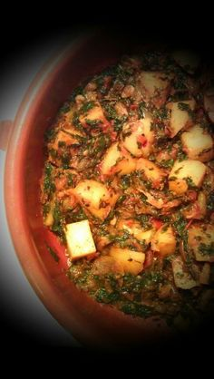 Aloo Palak ***The recipe can be found at: https://www.facebook.com/groups/ammaraskitchen/permalink/669493109751782/  ***Please join my Facebook group-  https://www.facebook.com/groups/ammaraskitchen/