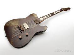 Billy F. Gibbons Custom Guitar Photographic Print