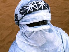 Africa | Portrait of a Tuareg man. Niger | © Syyedehaas, via Flickr