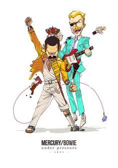 Freddie and David