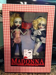 Madonna Blond Ambition Tour Monster High OOAK Dolls Think Christmas | eBay