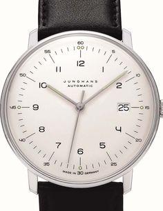 Montre Junghans Max Bill Automatique - J027-470000 - MAX BILL - Forges Paris Horlogerie Joaillerie