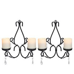 Pacific Accents Charleston Chandelier with Flameless Candles