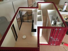 1:12 scale modern model houses: Industrial aspects