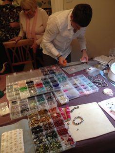 Workshop - make a bracelet for a fiver wow !