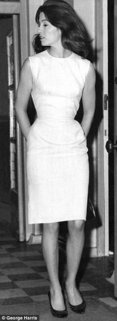 Christine Keeler pictured in July 1963