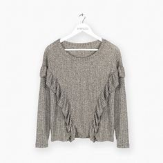 Remera Morley con Volado - Art. 4075 Indumentaria femenina - Ventas solo por mayor Minimal, Plus Size, Sewing, Sweatshirts, Sexy, Casual, Sweaters, Outfits, Clothes
