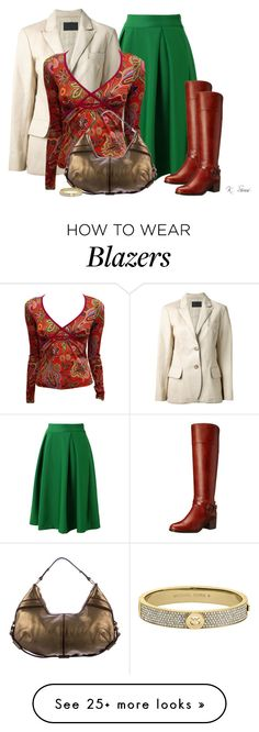 """""""Boots!"""" by ksims-1 on Polyvore featuring Chicwish, Marc Fisher, Prada, Etro, Yves Saint Laurent and Michael Kors"""