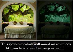 Glow In The Dark · Door MuralsMural WallCeiling ... Good Looking