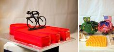 iron man grooms cake.  road bike grooms cake.  brazillian flags.  loganwalkerphoto.com