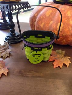 #Longaberger~Ghoulies, Ghosts, and Goodies, Oh My! Bring the magic of trick-or-treating to your little one this year with our 2015 Monster Ghoulie Basket and adorable Tie-On. #LongabergerBaskets #Halloween #homedecor