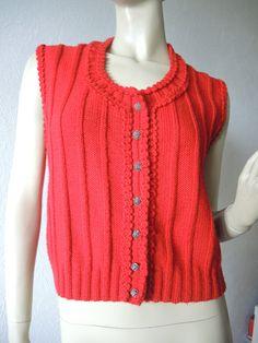 Pullover & Pullunder - handgestrickte Damen - Trachtenweste - ein Designerstück von Na-nett-e bei DaWanda