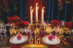30 Stunning Beauty And The Beast Wedding Decorations