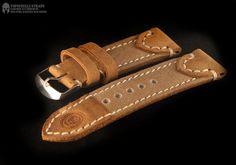 Leather watch strap от TopouzelliLeather на Etsy