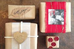 4 DIY Gift Wrapping Embellishments
