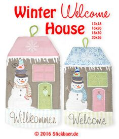 Winter Welcome House ITH