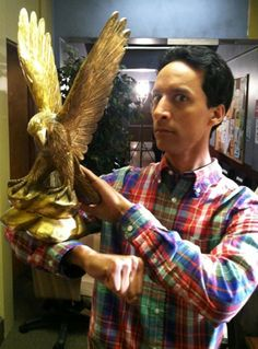This Danny Pudi post from Mykl Novak has a gajillion (or so) reblogs on Tumblr.