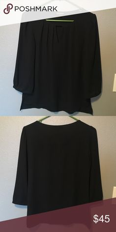Express Tunic Black Express tunic. Selling because I grew out of it! Good condition. Express Tops Tunics