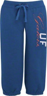 Florida Gators Women's Blue French Terry Capri Pants $18