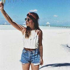 Afbeelding via We Heart It #beach #beauty #body #Dream #fashion #girl #Hot #jewellery #outfit #style #summer #sun #dulceida #shopya.net