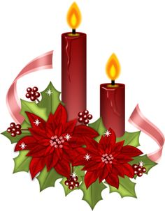 Poinsettias and candles clip art Christmas Rock, Purple Christmas, Christmas Scenes, Christmas Pictures, Christmas Holidays, Christmas Crafts, Christmas Decorations, Xmas, Merry Christmas