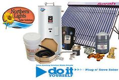 SWH-5 Solar Hot Water Heating Package - DIY Solar Kits #Unbranded