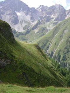 Lechtal - Memminger Hütte Richtung Parseiertal