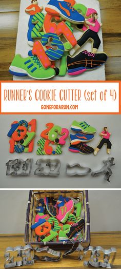Need a gift  idea for a runner who loves to bake? Check out our runner cookie cutter set at goneforarun.com