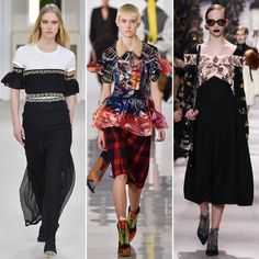 The 22 Trends, Fashion Ideas, and Styling Tricks We Loved from Fall 2016 #PFW - Creative Off-the-Shoulder Layering - from InStyle.com