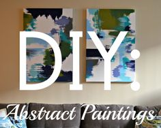 diy wall art paint on canvas | ... been so excited to share with you a diy i completed last week i have