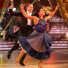 Claudia Fragapane and AJ Pritchard 's Quickstep could put a smile on anyone's face. Even Craig's!  #Strictly