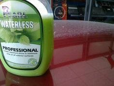 Pearl Professional is a High Tech Waterless Car Wash product made with natural ingredients, waxes and di-ionized water. It cuts the dirt on contact and leaves behind a a clean, high shine finished that has a velvet-smooth feeling to it when touched. The shine lasts for over 6 months and water beads off of it instantly. Pearl professional is available in bulk concentrate and can be shipped almost anywhere in the world.