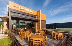 Café Barista by Interbrand Design Forum, Guatemala cafe
