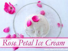 Rose Petal Ice Cream – Dairy-Free