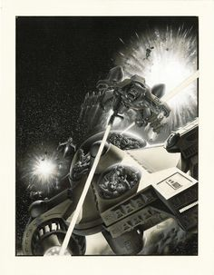 Bristol Board, Science Fiction Art, Sci Fi Art, Horror Art, Art Pages, Cover Art, Surrealism, Illustration Art, Darth Vader