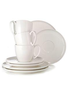Kaffee-Service, 18-tlg., Porzellan Jetzt bestellen unter: https://moebel.ladendirekt.de/kueche-und-esszimmer/besteck-und-geschirr/geschirr/?uid=a32d9680-b643-5792-9f33-e31776e19f06&utm_source=pinterest&utm_medium=pin&utm_campaign=boards #geschirr #kaffeeservice #kueche #living #küche #esszimmer #besteck Bild Quelle: impressionen.de