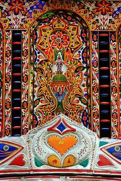 Truck Art and Religion #pakistan