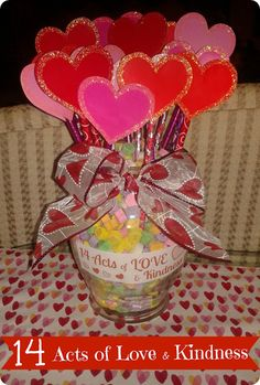 Valentine's Day Craft : 14 Acts Of Love & Kindness