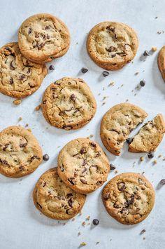 Healthy Cookie Recipes, Healthy Cookies, Healthy Desserts, Vegan Recipes, Cookies Vegan, Italian Recipes, Best Vegan Chocolate, Vegan Chocolate Chip Cookies, Dessert Micro Onde