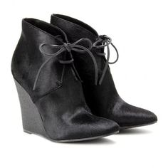 """""""BENTONS HAIRCALF WEDGE ANKLE BOOTS"""" https://sumally.com/p/904081"""