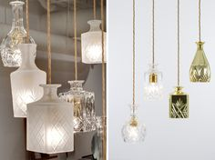 The Art Of Up-Cycling: Diy Lamp -Funky Lamps                                                                                                                                                      More