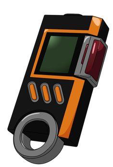 """La versión mejorada del Digivice iC. El profesor Suguru Daimon fue la primera persona en usarlo, en la historia por a los acontecimientos de la serie. Masaru, Touma y Yoshino los obtienen luego de un entrenamiento a cargo de BanchoLeomon para dominar su Digisoul, mientras que Ikuto mas adelante, durante la batalla contra los Caballeros Reales. Este Digivice tiene como sistema especial el """"Signal Port"""", el cual se activa gracias una """"Señal de Aire"""", la cual tiene entre sus funciones activar... Pokemon Games, Pokemon Go, Halloween Oreos, Digimon Tamers, Naruto Shippudden, Custom Pc, Bug Out Bag, Ghost In The Shell, Pretty Cure"""