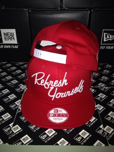 New Era x Coca Cola Refresh Yourself 9FIFTY Snapback Small Medium Coca Cola 0c639a7a6877