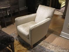 New chair in indigo