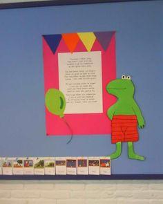 Gedicht Kikker is jarig School, Kids, Food, Art, Young Children, Art Background, Boys, Essen, Kunst