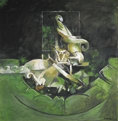 Graham Sutherland (British, Le Lierre [Ivy], Oil on canvas, 99 x cm. Graham, Famous Artists, British Artists, Modern Artists, Artist Gallery, Cool Artwork, Painting & Drawing, Illustration Art, Abstract