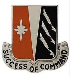 138th Signal Battalion Unit Crest (Success of Command)