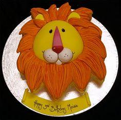 Lion cake taken from google images.