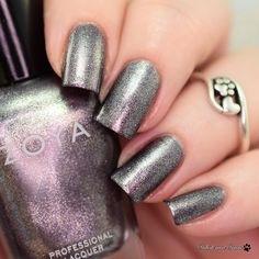 @zoyanailpolish Troy from the Urban Grunge Metallic Holo collection. This is 2 coats but one coat is all you need!  #zoya #zoyanailpolish #everydayzoya #zoyaurbangrunge #zoyatroy #fbpolishpaws #prsample